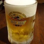 肉汁水餃子 餃包 - キリン一番搾り生:490円