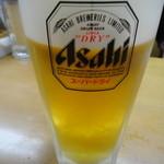 焼き鳥野島 - 生ビール
