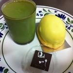 パティシエ山川 - 抹茶プリンとレモンケーキ