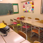 給食当番 - 2F教室風パーティールーム