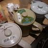 牛太 - 料理写真:つけダレ3種