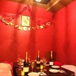グリルハンター - 完全個室完備。ハート型クッションソファーいっぱいの座敷型。~8名様