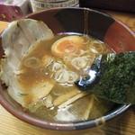 旬助 - ●つけ麺(並)醤油