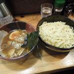 旬助 - ●つけ麺(並)、冷もり、太麺、醤油。
