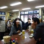 三ちゃん食堂 - まっ昼間から飲みまくり!