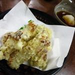 三ちゃん食堂 - ちくわ天ぷら300円