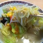 ふうふう亭 - 料理写真:タンメンアップ