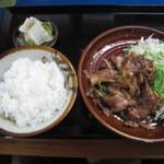 十勝 - 十勝 生姜焼定食