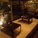 豊岡バルアニージョ - 期間限定の夜桜バル(店内で桜の花見が出来ます)