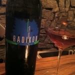 フェーガト・フォルテ - 色はロゼだけど白ワイン
