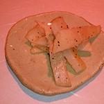 """18092201 - """"タイラギ""""の炙り。これもまた黒胡椒の粗挽きが良いアクセントだ。"""