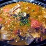 アロヒディン - ナウルーズパーティ特別料理、骨付き羊肉のカボブ