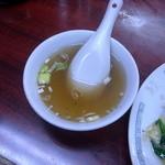 弘華飯店 - スープ