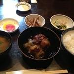 お菜処 ゆう - 和風ロールキャベツ