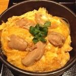 土風炉 - 奥久慈卵の親子丼(c_c)