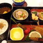 パーティー チューン - 菜の花油の和膳1201円(3/16~31日限定)