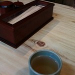 食処おゝき - お箸とそば茶