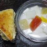 茶ろん もも - 持ち帰り用の「チーズケーキ」と「杏仁豆腐」