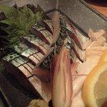 美・彩・食 倶楽部 和心 - 鯖のお造り