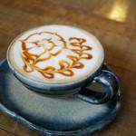 たいむカフェ - 料理写真:キャラメルアート
