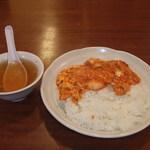 中華麺飯 太楼 - ふんわり卵のエビチリ飯