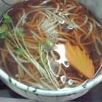 末ひろ - 定食の蕎麦、蒲鉾の切り方が美しい