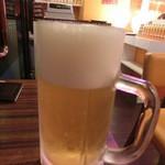 シャンティ - ビール380円