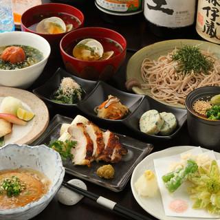 季節の食材を取り入れた板前が作る和食