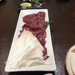 楽天 - 料理写真:馬刺し、鬣付き