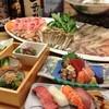 ときすし - 料理写真:春の桜鯛入り、ときすししゃぶしゃぶ宴会コース(要予約)フルセット3000円+飲放980円=3980円♪料理内容は宴会情報をご覧ください