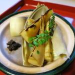 18106060 - 焼き物:筍山椒焼き 花山椒の佃煮