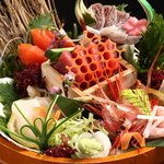 新鮮鮮魚と産直野菜の店 かぐやひめ - 超キラー商品海鮮5点盛り999円