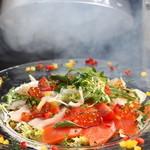 新鮮鮮魚と産直野菜の店 かぐやひめ - 魔法のカルパッチョ
