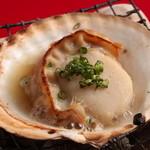 新鮮鮮魚と産直野菜の店 かぐやひめ - 赤字商品ホタテの浜焼き280円