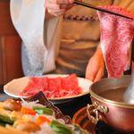 割烹 天ぷら 三太郎 - 【仙台牛しゃぶしゃぶ ¥10000】特製のごまだれとぽん酢が仙台牛の旨みを最高に引き上げます。