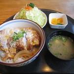 末広亭 - カツ丼