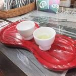 寺島屋弥兵衛商店 - (o>ω<o)お店でお茶をどうぞと!美味しすぎました!
