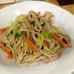 あさくら - 肉野菜炒め(700円) お肉がたっぷり!