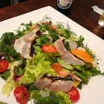 ピッツエリア ファッブリカ1090 - 2013年 能登産サゴチの炙りと鯛のカルパッチョ 1350円 (☆3.2)
