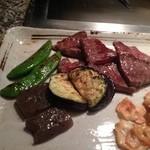 神戸 菊水 - ランチ、ひら肉