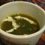 タージマハル エベレスト - サービスのスープ