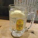 海鮮酒場はたはた - レモンハイボール。