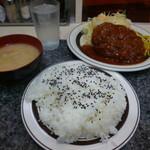 18116113 - メンチカツ定食