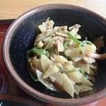 たんぽぽ - おまかせランチ(ジャガイモの炒めもの)