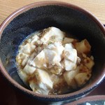 たんぽぽ - おまかせランチ(麻婆豆腐)