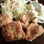 たんぽぽ - おまかせランチ(鶏唐&サラダ)