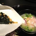 北新地 湯木 - 食事 2013.3