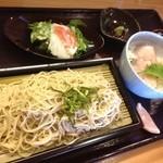 18116497 - そばと旬の魚丼セット1000円