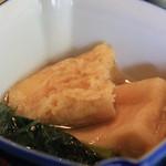 まな板の上の旬 ぽぽぽん -  高野豆腐 小松菜