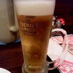 日本橋焼餃子 - 生ビール